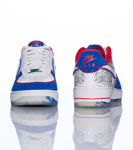 NIKE - Sneakers - AIR FORCE ONE LOW PREMIUM P.R. SNEAKER
