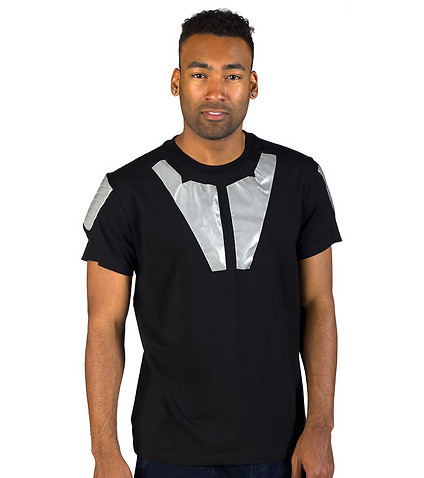 HUDSON OUTERWEAR - Tees and Polos - LEATHER PADDED 3M TEE