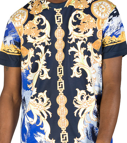 HUDSON OUTERWEAR - Tees and Polos - BAROQUE PAINT BRUSH TEE