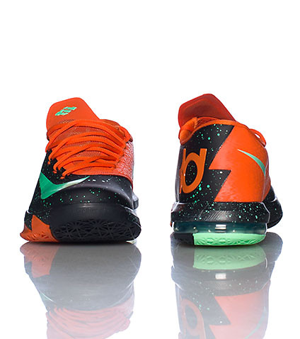 NIKE KD 6 TEXAS GLOW IN THE DARK SNEAKER - Black | Jimmy ...