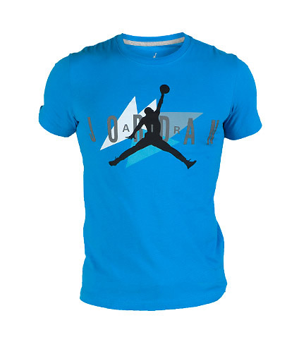 JORDAN MENS AIR JORDAN 1991 VAULT TEE Blue