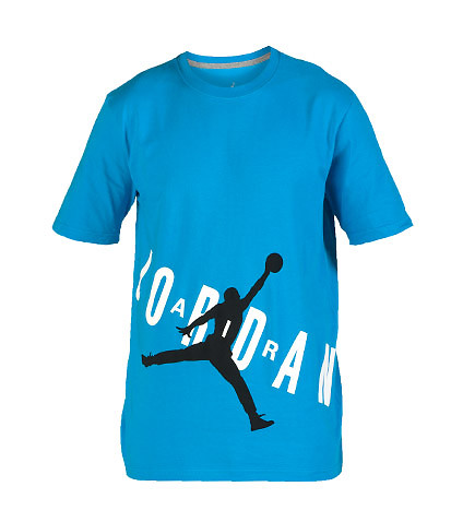 JORDAN MENS AIR JORDAN BOLD TEE Blue