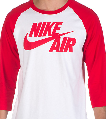 NIKE SPORTSWEAR - Tees and Polos - NIKE BB 3Q SLEEVE RAGLAN TOP