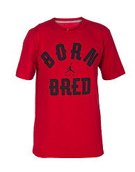 JORDAN BORN AND BRED TEE