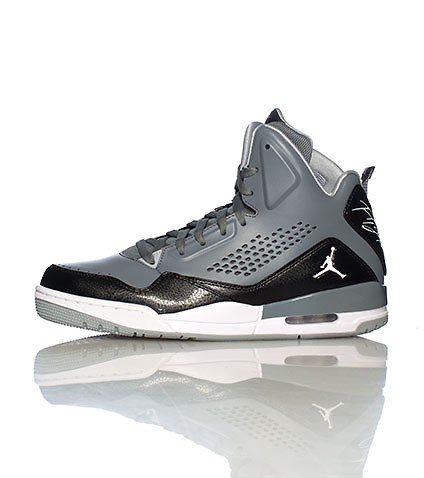 JORDAN MENS SC 3 TRAINER SNEAKER Grey