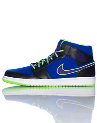 JORDAN 1 MID MIXED FABRIC SNEAKER