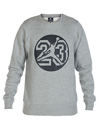 JORDAN GRAPHIC FLEECE CREW SWEATSHIRT