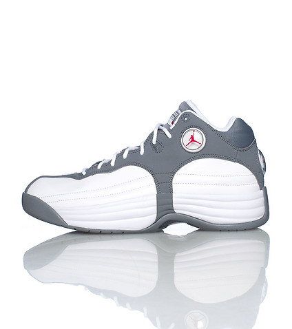 JORDAN MENS JUMPMAN TEAM 1 SNEAKER Grey