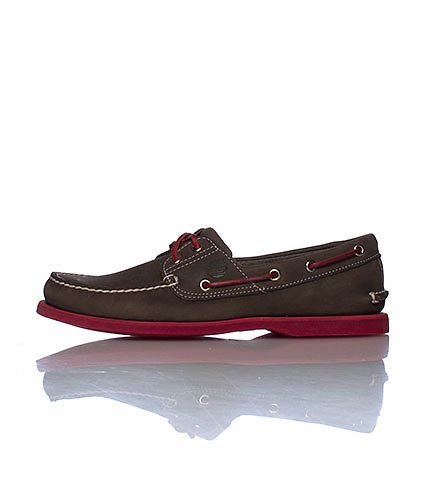 TIMBERLAND MENS BOAT SHOE Brown