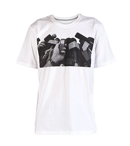NIKE MENS SB QT S+ INTERVIEW TEE White