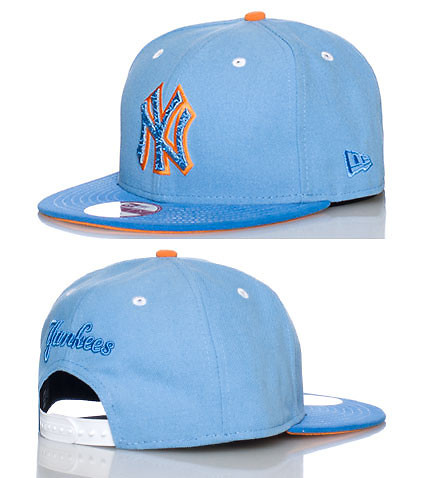NEW ERA MENS NEW YORK YANKEES MLB SNAPBACK CAP Blue