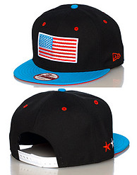 NEW ERA USA FLAG SNAPBACK CAP JJ EXCLUSIVE