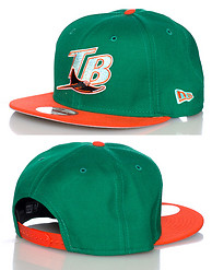 NEW ERA TAMPA BAY DEVIL RAYS MLB SNAPBACK CAP