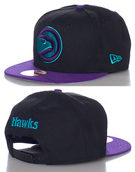 NEW ERA ATLANTA HAWKS NBA SNAPBACK CAP