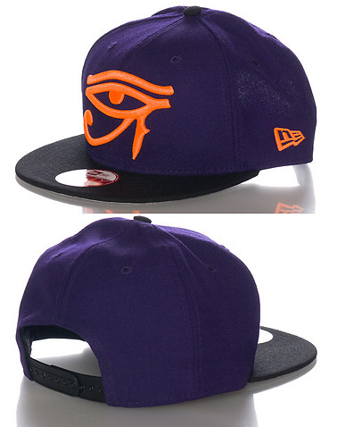NEW ERA MENS Purple Accessories / Caps Snapback One Size 11179813