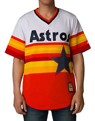 MAJESTIC Houston Astros 1986 Replica Jersey