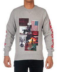 A.K.O.O. MIND CORRECTION FLEECE CREW SWEATSHIRT