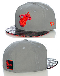 NEW ERA MIAMI HEAT NBA FITTED CAP