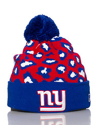 NEW ERA NEW YORK GIANTS NFL JUNGLE BEANIE