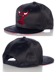 NEW ERA LUSTER CHICAGO BULLS NBA SNAPBACK CAP