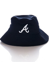 NEW ERA ATLANTA BRAVES TEAM BUCKET HAT