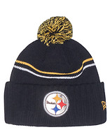 NEW ERA STEELERS CRISP NFL KNIT BEANIE