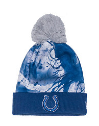 NEW ERA COLTS NFL PAINT SPLATTER BEANIE