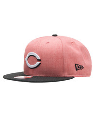 NEW ERA CINCINNATI REDS HEATHER SNAPBACK HAT