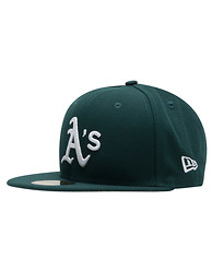 NEW ERA OAKLAND ATHLETICS TILE FITTED