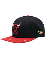 NEW ERA BULLS STAR TRIM SNAPBACK