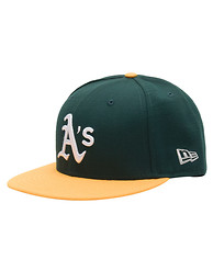 NEW ERA OAKLAND ATHLETICS STAR TRIM SNAPBACK