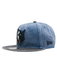 NEW ERA Timberwolves Rugged Canvas Snapback