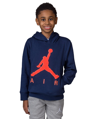 Jordan Boys Navy Clothing / Sweatshirts M 11204450