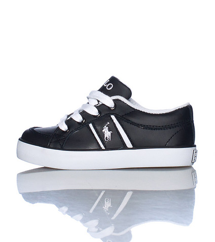 POLO FOOTWEAR KIDS BOLLINGBROOK SNEAKER Black