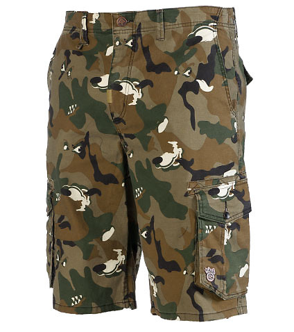 LRG MENS UNATURAL PALETTE CLASSIC CARGO SHORT Brown