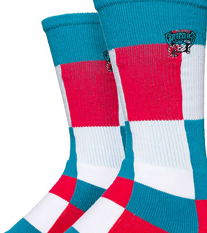FOR BARE FEET - Socks - VANCOUVER GRIZZIES NBA CREW SOCKS