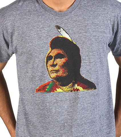 PENDLETON - Tees and Polos - FITTED CHIEF UMAPINE GRAPHIC TEE
