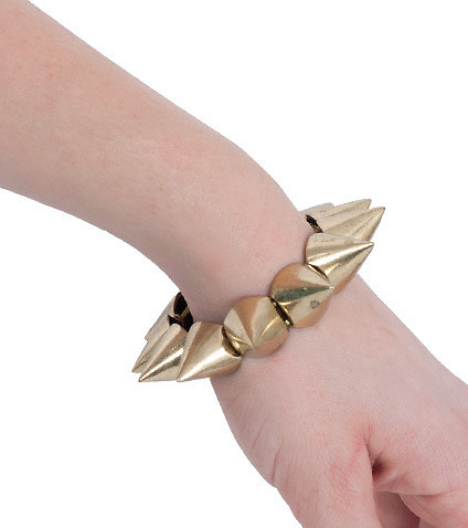 ESSENTIALS - Miscellaneous - STRETCH LARGE SPIKE BRACELET