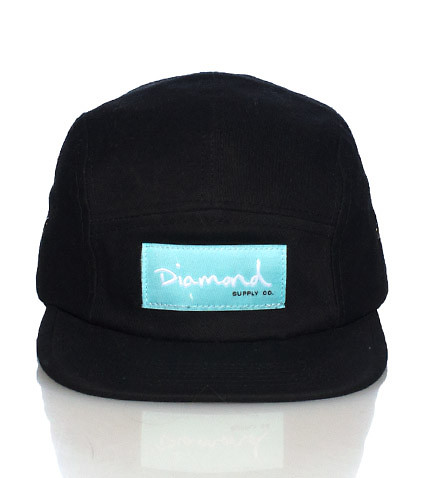 DIAMOND SUPPLY COMPANY - Caps Snapback - OG SCRIPT 5 PANEL STRAPBACK CAP