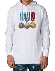 DIAMOND SUPPLY COMPANY MINER MEDALS HOODIE