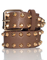 ESSENTIALS STUDDED BUCKLE BELT