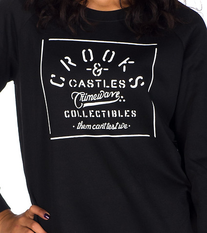 CROOKS AND CASTLES - Sweatshirts - CRIMEWAVE SWEATSHIRT
