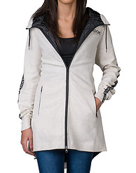 CROOKS AND CASTLES FLEECE PARKA WITH TAPING