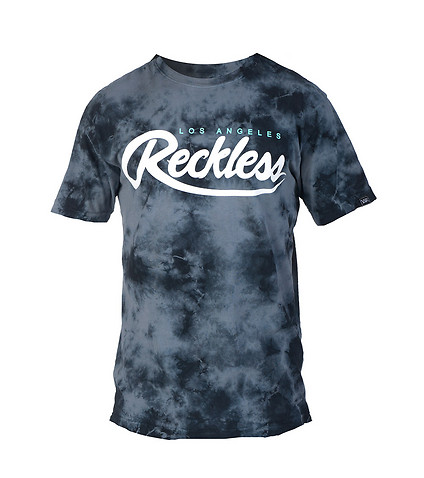 YOUNG AND RECKLESS MENS BIG R SCRIPT TEE Grey
