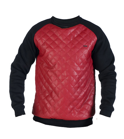 KITE MENS DIAMOND CREWNECK SWEATSHIRT Red