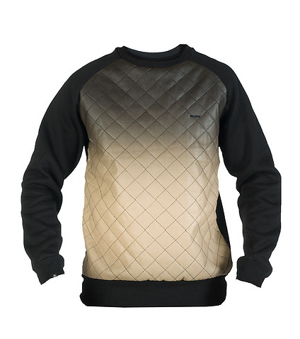 KITE MENS DIAMOND HOMBRE CREWNECK SWEATSHIRT Black