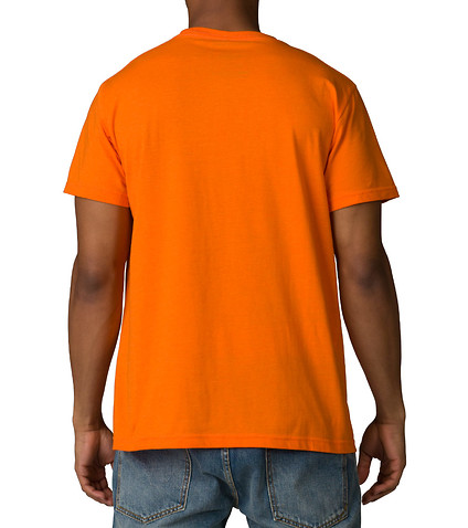 DECIBEL - Tees and Polos - MELANGE CREW NECK TEE WITH POCKET