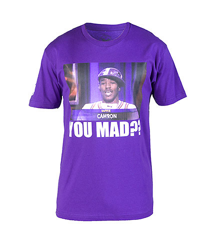 DIPSET MENS YOU MAD TEE Purple