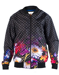 DECIBEL DOT NYLON FLOWER JACKET
