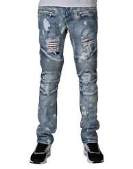 EMBELLISH Rick Biker Denim